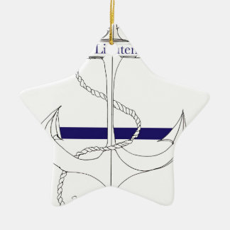 navy sub lieutenant, tony fernandes christmas ornament