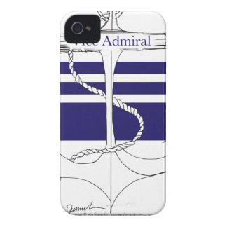 navy vice admiral, tony fernandes iPhone 4 Case-Mate cases