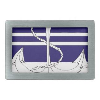navy vice admiral, tony fernandes rectangular belt buckle