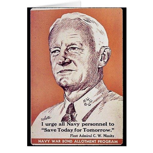 Navy War Bond Allotment Program Card
