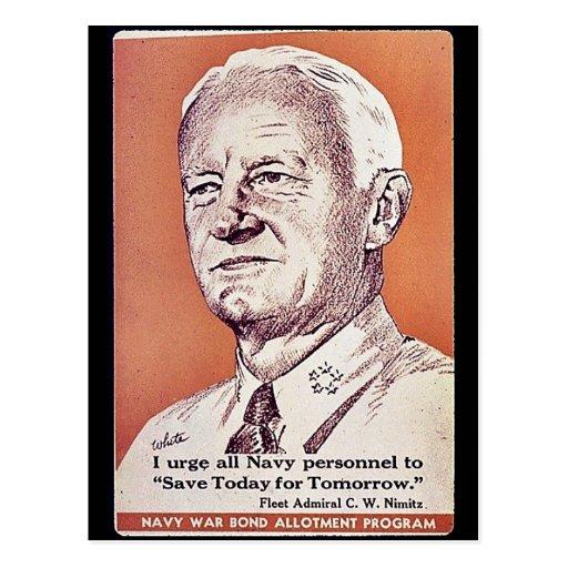 Navy War Bond Allotment Program Postcards