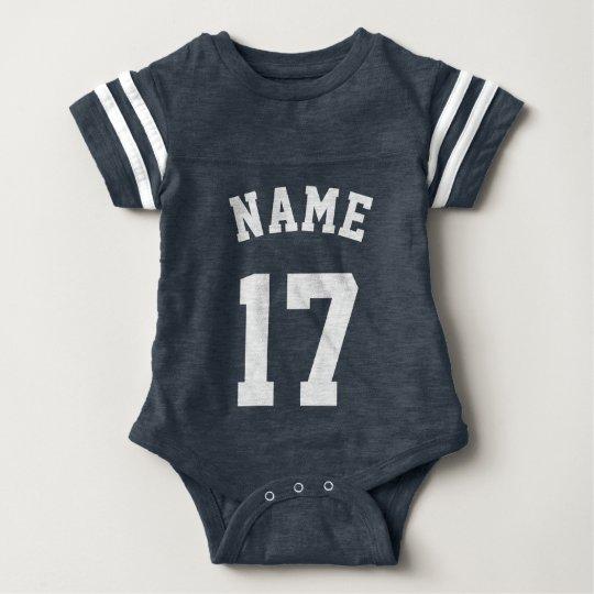 Navy & White Baby | Sports Jersey Design