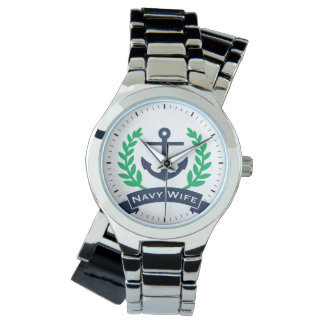 Navy Wife Anchor Watches