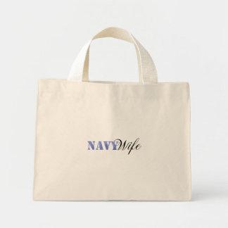 Navy Wife Bag