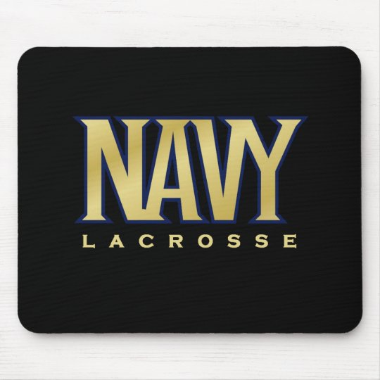 Navy Women's Lacrosse Mouse Mat