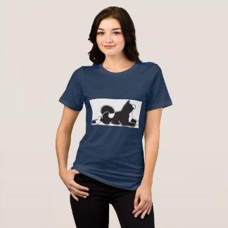Navy Women's MARS Akita T-Shirt