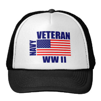 NAVY WW II Veteran Cap