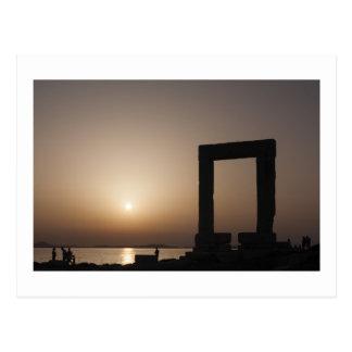 Naxos, Greece Postcard