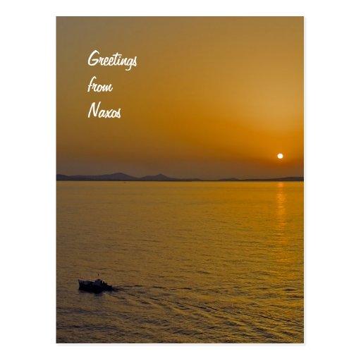 Naxos Postcard