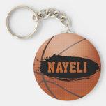 Nayeli Personalised Basketball Keychain / Keyring