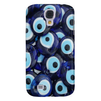 Nazar Amulets Evil Eye Stones Blue Pattern Galaxy S4 Case