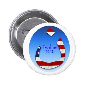 Nazarene Flag 1 6 Cm Round Badge