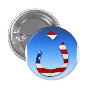 Nazarene Flag 3 3 Cm Round Badge