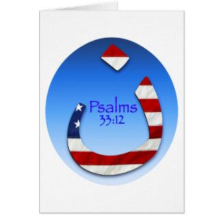 Nazarene Psalm Greeting Card