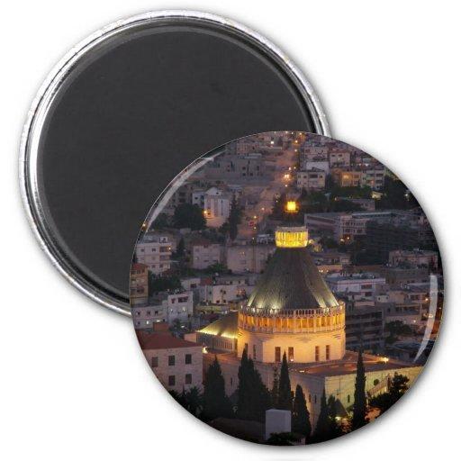 Nazareth, the city of Jesus parents Magnets