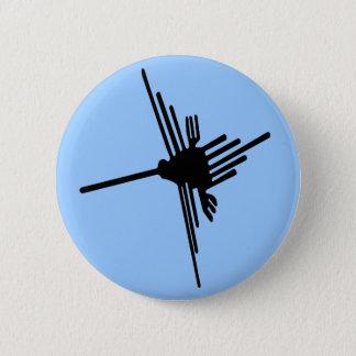 Nazca Hummingbird button
