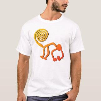 Nazca Monkey in Fire T-Shirt