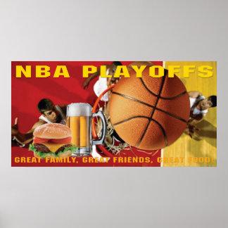 NBA Basketball Playoffs Banner Posters