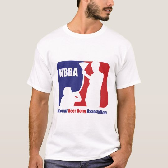 NBBA, Nationatl Beer Bong Association T-Shirt