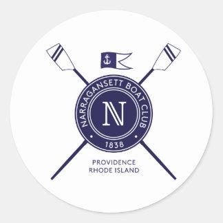 NBC Round Bumper Sticker