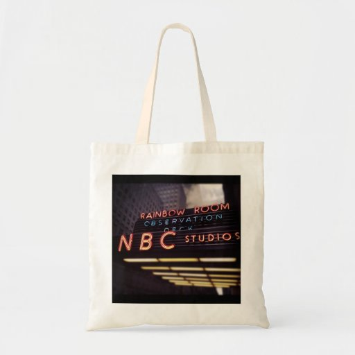 NBC Studios Rainbow Room Bag