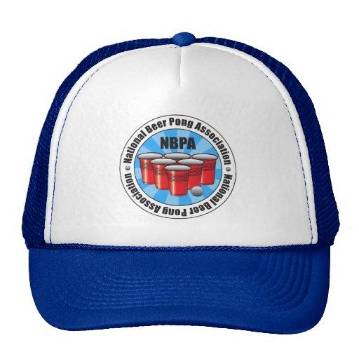 NBPA National Beer Pong Association Starburst Mesh Hats