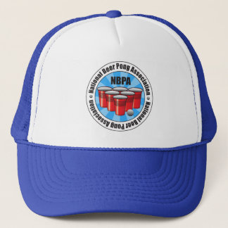 NBPA National Beer Pong Association Starburst Trucker Hat