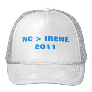 NC > IRENE TRUCKER HATS