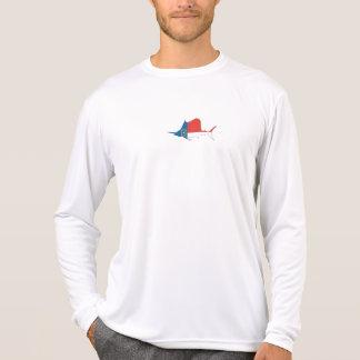 NC Marlin long-sleeve moisture wicking T-shirt