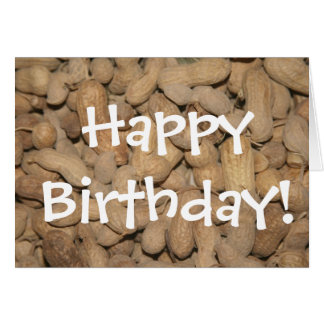 NC Peanuts, Happy Birthday! Card