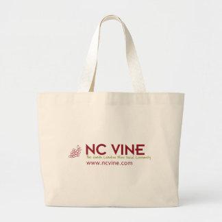 NC Vine - The North Carolina Wine Social Community Canvas Bag
