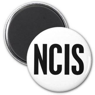 NCIS 6 CM ROUND MAGNET