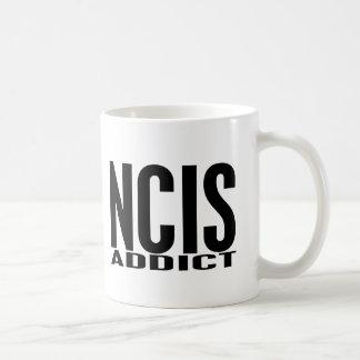 NCIS Addict Basic White Mug