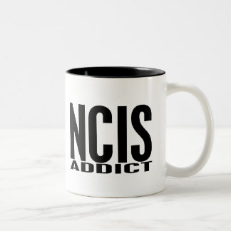 NCIS Addict Two-Tone Coffee Mug