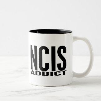 NCIS Addict Two-Tone Mug