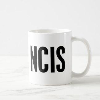 NCIS BASIC WHITE MUG