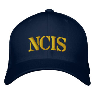 NCIS EMBROIDERED CAP