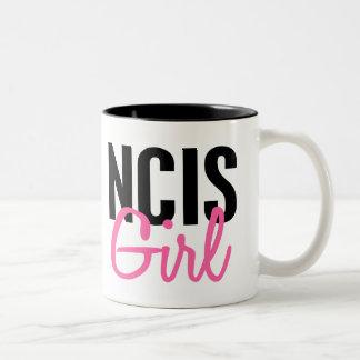 NCIS Girl 4 Two-Tone Coffee Mug