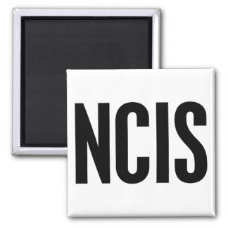 NCIS SQUARE MAGNET