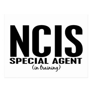 NCIS Special Agent In Training 1 Postcard