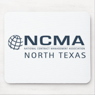 ncma-logo_1color_north-texas Rev 1 Mouse Mat