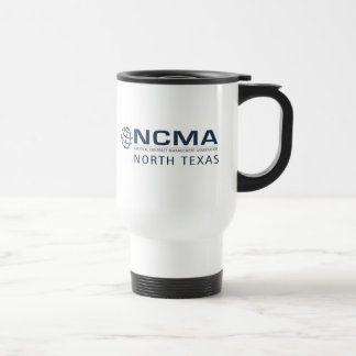 ncma-logo_1color_north-texas Rev 1 Travel Mug