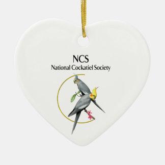 NCS Heart Ornament