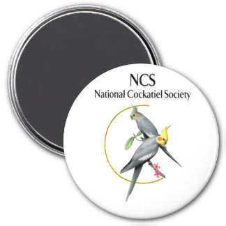 NCS Large 3 Inch Round Magnet