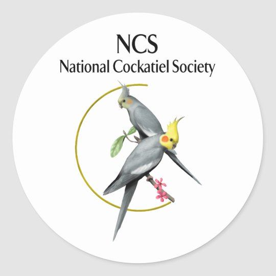 """NCS Show Stickers Classic Round Stickers 1 1/2"""""""