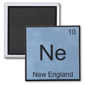 Ne - New England Funny Chemistry Element Symbol T Fridge Magnets