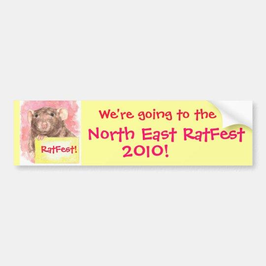 NE RatFest Bumper Sticker