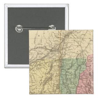 NE United States 15 Cm Square Badge