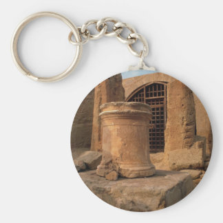 Nea Paphos, the tombs of the Kings, Cyprus Basic Round Button Key Ring