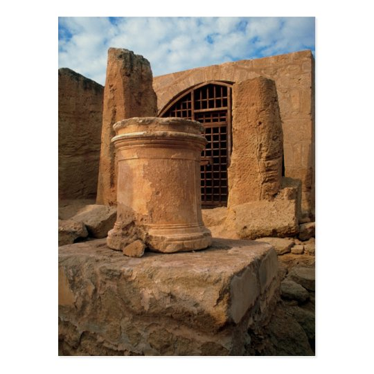 Nea Paphos, the tombs of the Kings, Cyprus